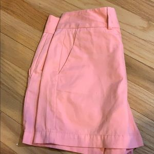 Loft 00 peach orange shorts women Ann Taylor